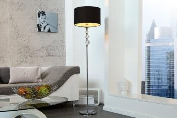 Auergewhnliche-Stehlampe-ALLURE-schwarz-silber-0