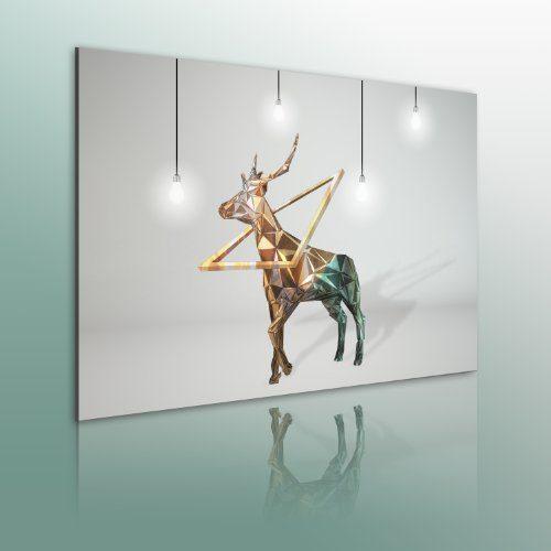 Bilder-XXL-Fertig-Aufgespannt-Top-Leinwand--1-Teilig--Abstrakt--Wand-Bilder--020101-82--90x60-cm--Riesen-Bilder-Kunstruck-Wand-Bilder--0