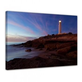 Bilderdepot24-Keilrahmenbild-Leuchtturm-von-Trafalgar-Cadiz-XXL-120x90-cm-1-teilig-fertig-gerahmt-direkt-vom-Hersteller-0