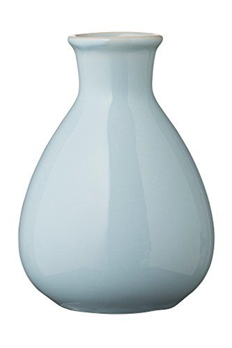 Bloomingville-Caroline-Blumenvase-Blumengef-Porzellan-blau-0