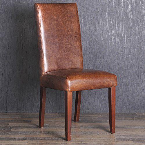 edler spalt lederstuhl esszimmerstuhl lehnstuhl vintage. Black Bedroom Furniture Sets. Home Design Ideas