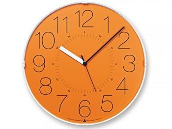 Designer-Wanduhr-Awa-Cara-Orange-0