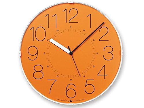 design wanduhr awa cara orange online kaufen bei woonio. Black Bedroom Furniture Sets. Home Design Ideas