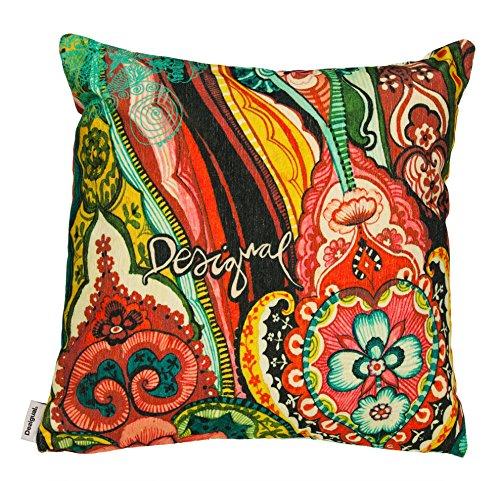 desigual living 47cl009 gef lltes kissen baumwolle 45 x 45. Black Bedroom Furniture Sets. Home Design Ideas