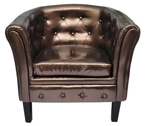 edle chesterfield sessel lounge couch sofa b ro m bel club edler clubsessel online kaufen bei woonio. Black Bedroom Furniture Sets. Home Design Ideas