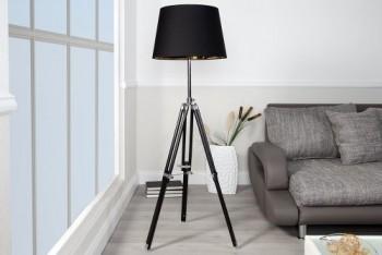 Elegante-Design-Stehlampe-SYLT-hhenverstellbar-schwarz-0