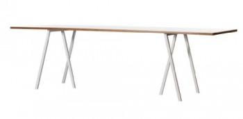 HAY-Esstisch-Loop-Stand-Table-S-wei-Leif-Jrgensen-Platte-Linoleum-Sperrholz-Beine-Stahl-pulverbeschichtet-0
