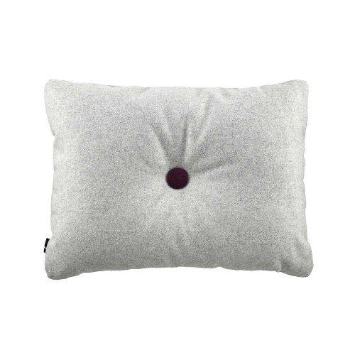 HAY Kissen Dot Cushion Divina Melange Hellgrau 120