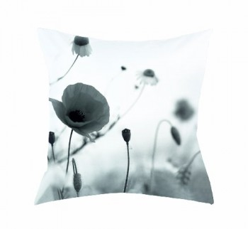 Home-fashion-66561-196-Kissenhlle-Digitaldruck-Zwolle-40-x-40-cm-Seidenoptik-schwarz-wei-0