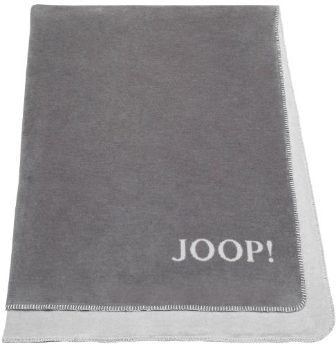 joop 81238 fleece decke graphit rauch 150 x 200 cm online kaufen bei woonio. Black Bedroom Furniture Sets. Home Design Ideas