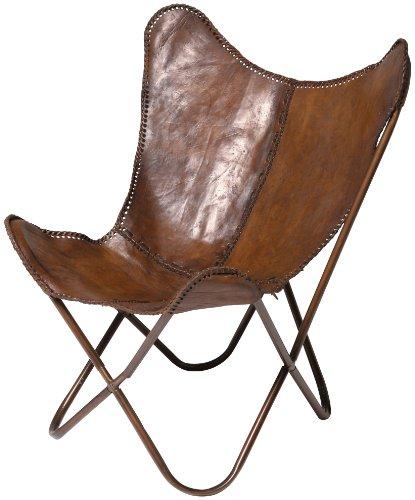 kare 73490 sessel butterfly braun online kaufen bei woonio. Black Bedroom Furniture Sets. Home Design Ideas