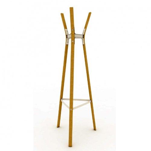 magis steelwood garderobenst nder buche wei lackiert h 160cm online kaufen bei woonio. Black Bedroom Furniture Sets. Home Design Ideas