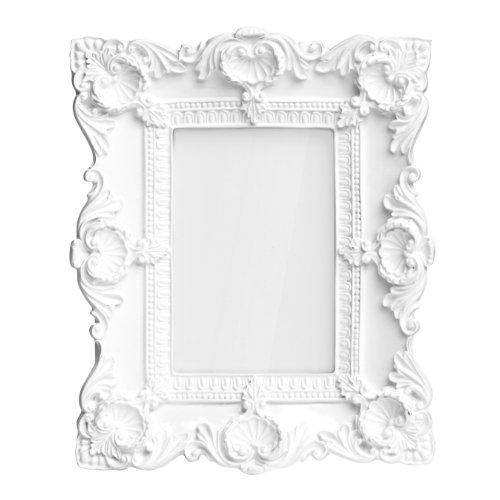 premier housewares 2300758 barock bilderrahmen 4 x 6 zoll wei gloss online kaufen bei woonio. Black Bedroom Furniture Sets. Home Design Ideas