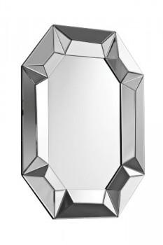 Premier-Housewares-Achteckiger-Wandspiegel-Glas-100-x-76-x-4-cm-0