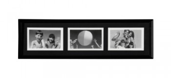 Premier-Housewares-Bilderrahmen-fr-3-Fotos--10-x-15-cm-Kunststoff-schwarz-0