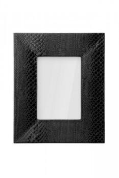 Premier-Housewares-Bilderrahmen-mit-Schlangeneffekt-13-x-18-cm-Schwarz-0