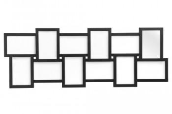 Premier-Housewares-Mehrfachrahmen-Schwarz-0