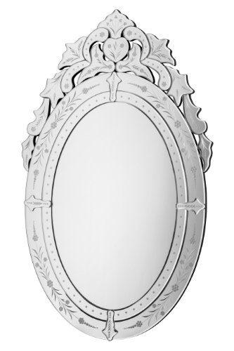 Premier-Housewares-Sirani-Wandspiegel-mit-Deko-Rahmen-106-x-66-x-3-cm-0