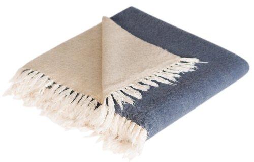 perelic wolldecke aus reiner schurwolle in doubleface ausf hrung besonders warm ca 160 220cm. Black Bedroom Furniture Sets. Home Design Ideas