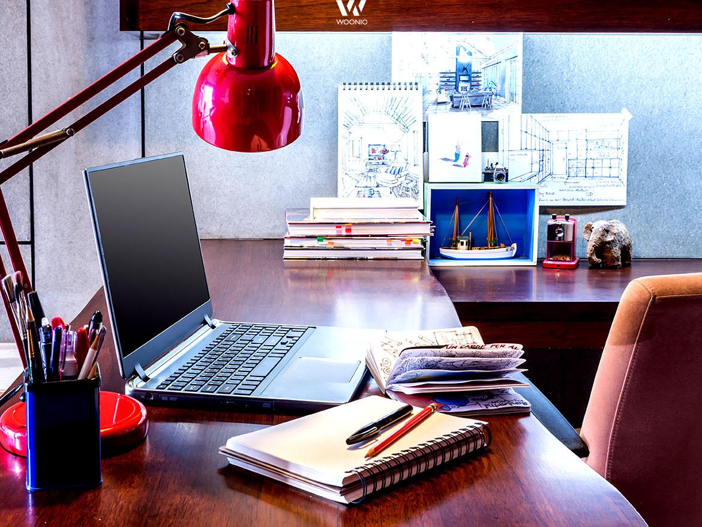 indirekte beleuchtung f r zeichnungen oder lange intensive arbeitsabende wohnidee by woonio. Black Bedroom Furniture Sets. Home Design Ideas