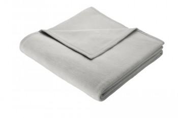 bocasa-6421-03-61-008-Decke-Cotton-Pure-silber-ca-150-x-200-cm-100-Baumwolle-0