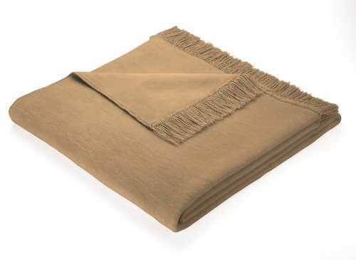 biederlack 100 x 200 cm cotton cover blanket throw camel brown by bocasa online kaufen bei woonio. Black Bedroom Furniture Sets. Home Design Ideas