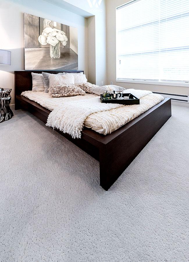 Der Helle Teppichboden Lasst Sich Gut Kombinieren Und Verhindert
