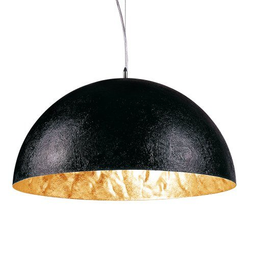sluce-Blister-Pendelleuchte-1xE27-40cm-schwarzgoldfarben-4915-1A-40-GD-0