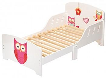 4Uniq-Kinderbett-Eule-weiss-lackiert-Bettgestell-Spielbett-Holzbett-Bett-0