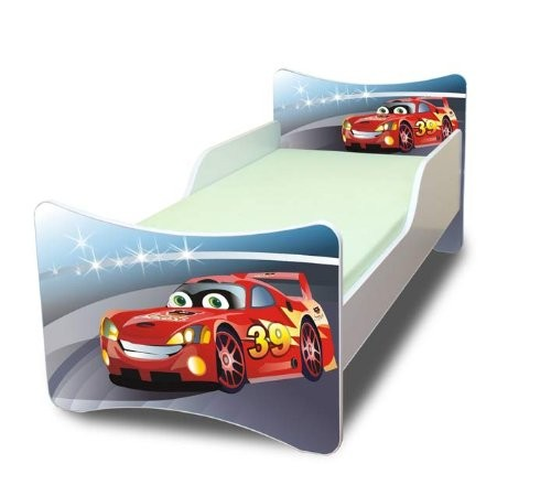 best for kids kinderbett 90x200 cars ii online kaufen. Black Bedroom Furniture Sets. Home Design Ideas