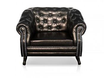 BRISA-Sessel-Kunstleder-Antikbraun-0