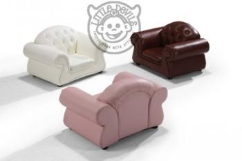 BRauner-kleiner-Chester-Kinder-Sessel-Italienisches-Leder-Spielsessel-Kinder-Spielzimmer-0-1