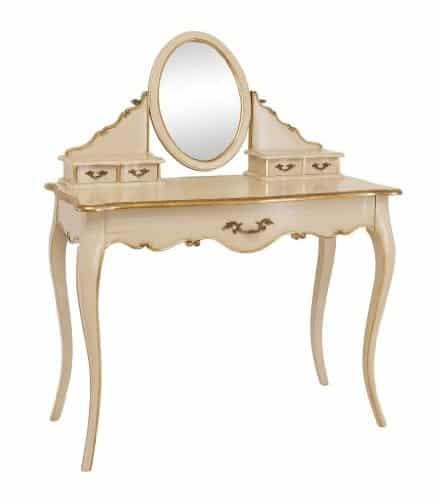 barock schminktisch damentisch frisierkommode online kaufen bei woonio. Black Bedroom Furniture Sets. Home Design Ideas