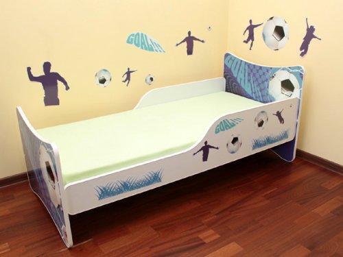 best for kids kinderbett 70x140 goal matratze lattenrost wandaufkleber online kaufen bei. Black Bedroom Furniture Sets. Home Design Ideas