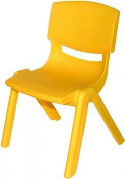 Bieco-04000001-Kinderstuhl-aus-Kunststoff-gelb-0