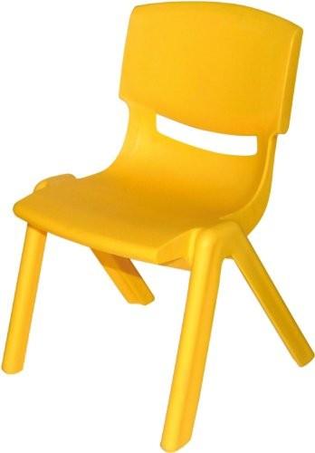 bieco 04000001 kinderstuhl aus kunststoff gelb online kaufen bei woonio. Black Bedroom Furniture Sets. Home Design Ideas