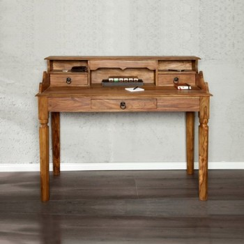 design wooden bureau authentico desk table office. Black Bedroom Furniture Sets. Home Design Ideas