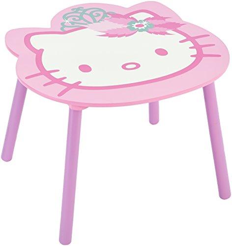 delta tt 89449 hello kitty tisch 60 x 60 cm plus 2 st hle mdf online kaufen bei woonio. Black Bedroom Furniture Sets. Home Design Ideas