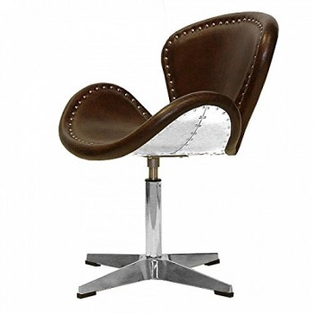 Echtleder-Egg-Chair-Sessel-Ledersessel-Design-Lounge-Clubsessel-Mbel-NEU-437-0