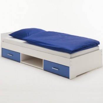 Einzelbett-KAI-Kiefer-massiv-wei-blau-lackiert-0
