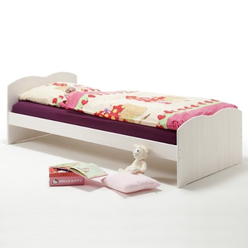 funktionsbett kinderbett melanie kiefer massiv online kaufen bei woonio. Black Bedroom Furniture Sets. Home Design Ideas