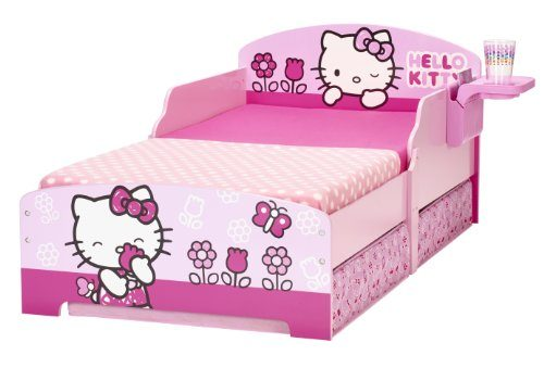 hello kitty 499hlk kinderbett mit aufbewahrung und nachtisch online kaufen bei woonio. Black Bedroom Furniture Sets. Home Design Ideas