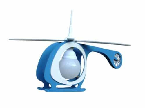 hubschrauber blau 1er deckenlampe elobra 125403 online. Black Bedroom Furniture Sets. Home Design Ideas