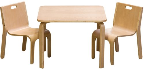 Impag Kindersitzgruppe Joel 3 Kombinationen Set 1x Tisch 2x