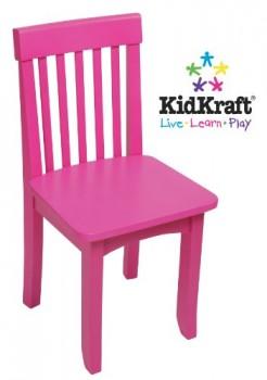 KidKraft-16616-Avalon-Stuhl-Himbeerfarben-0