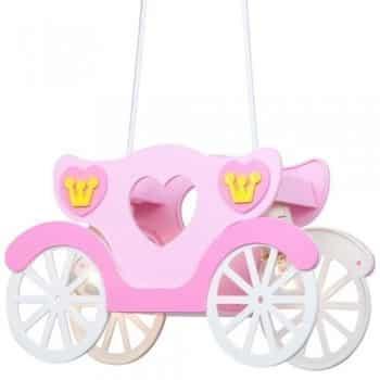 Kinder-Deckenleuchte-Mdchen-Hngeleuchte-rosa-Prinzessinnenkutsche-Globo-15724-0