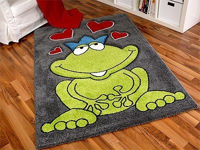 kinder spiel teppich paradiso froschk nig abverkauf reduziert online kaufen bei woonio. Black Bedroom Furniture Sets. Home Design Ideas