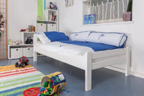 Kinderbett-Jugendbett-Easy-Sleep-K12n-Buche-Vollholz-massiv-wei-lackiert-Mae-90-x-200-cm-0