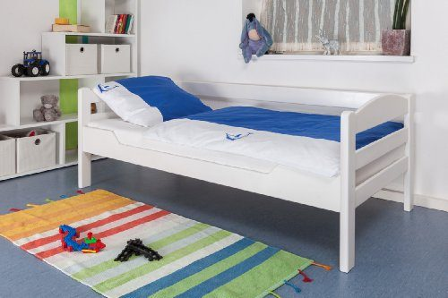 Kinderbett-Jugendbett-Easy-Sleep-K1ns-Buche-Vollholz-massiv-wei-lackiert-Mae-90-x-190-cm-0