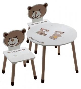 Kindertisch-2x-Kindersthle-TEDLILY-Schreibtisch-Tisch-Sitzgruppe-TEDDY-0